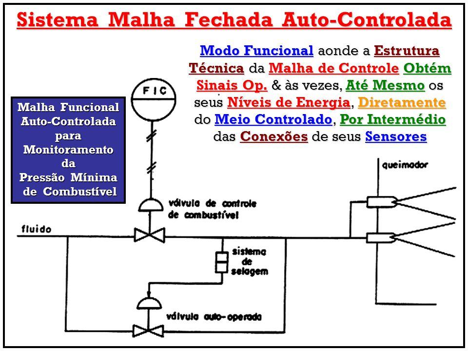 Sistema Malha Fechada Auto-Controlada Malha Funcional Auto-Controladapara Monitoramento da Pressão Mínima de Combustível de Combustível Modo Funcional