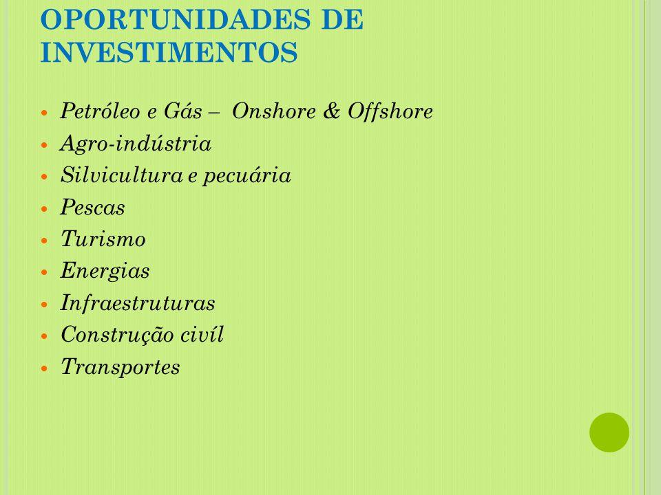 PRINCÍPIOS BÁSICOS DA POLÍTICA DE INVESTIMENTOS Promover a integração das pequenas e médias empresas (PME) na cadeia produtiva. Promover o sector priv