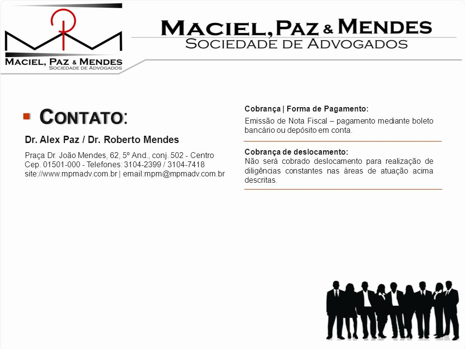 Emerenciano, Baggio e Associados – Advogados – www.emerenciano.com.br Contato: Kelly Yumi – (11) 2123 4699 Trigueiro Fontes Advogados - www.trigueirof