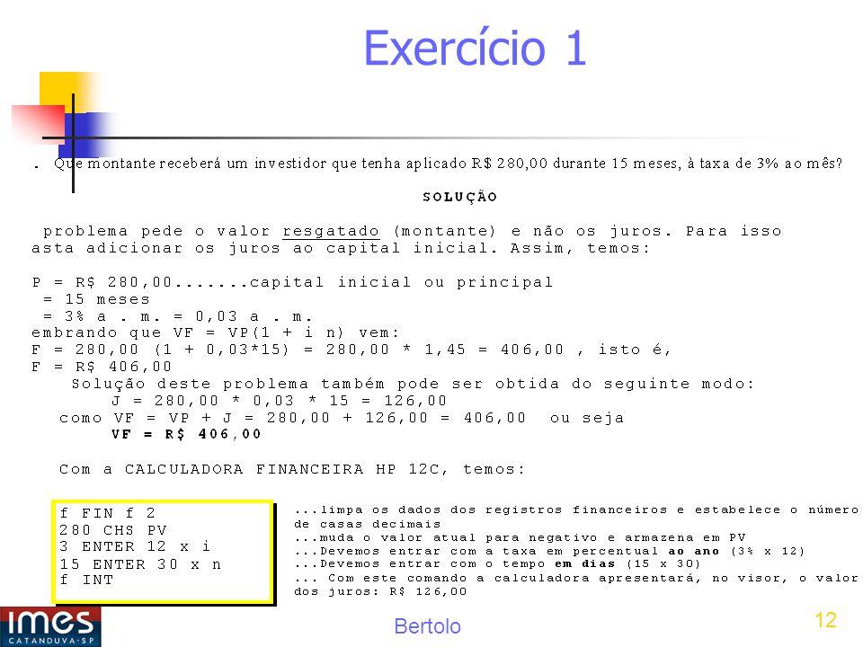 Bertolo 12 Exercício 1