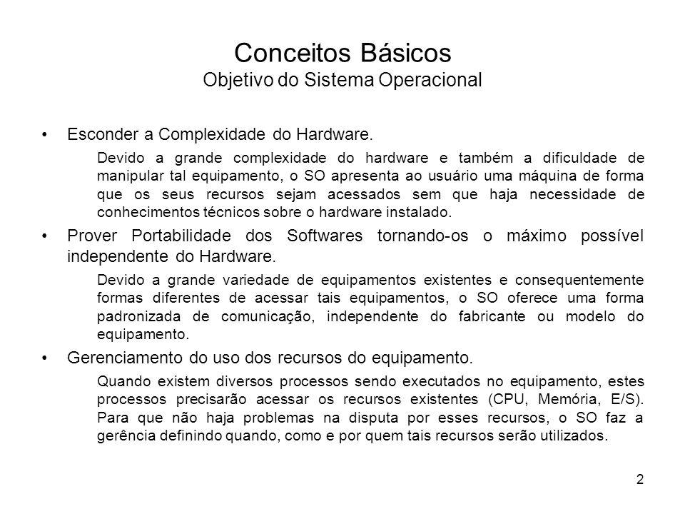Gerência do Processador FIFO ou FCFS (Não Preemptivo) Execução EsperaCriação Término Fila dos processos no estado de Pronto 83