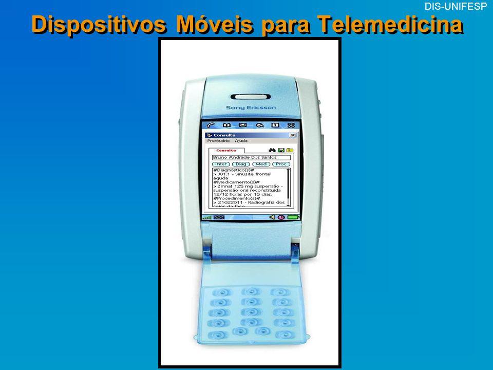 DIS-UNIFESP Dispositivos Móveis para Telemedicina