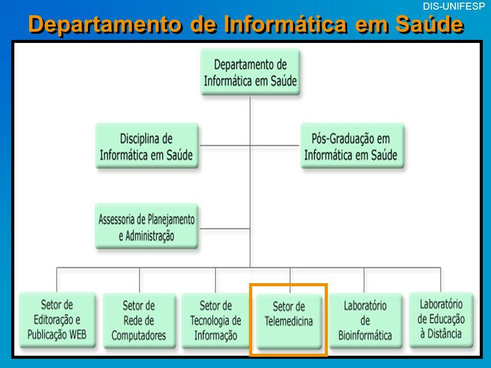 DIS-UNIFESP Departamento de Informática em Saúde