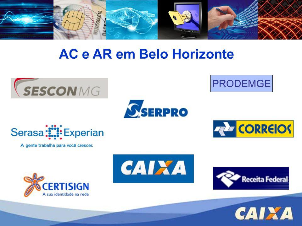 AC e AR em Belo Horizonte PRODEMGE