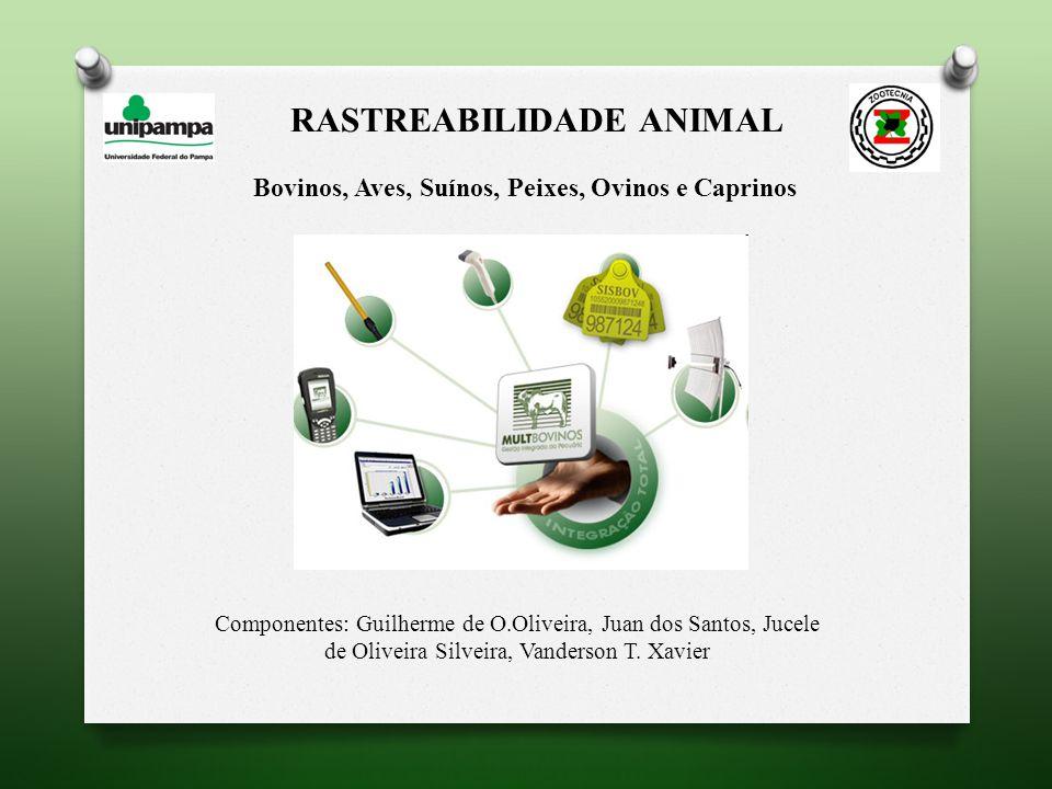 RASTREABILIDADE NA CADEIA DE AVES No Brasil, contaminações recentes com nitrofuranos em aves acelerou o processo de rastreabilidade, garantindo a segurança do consumidor; Diferentemente do que ocorre no rastreamento bovino e suíno a rastreabilidade na cadeia de aves ocorre com a identificação das matrizes, dos ovos, dos pintos e dos frangos;