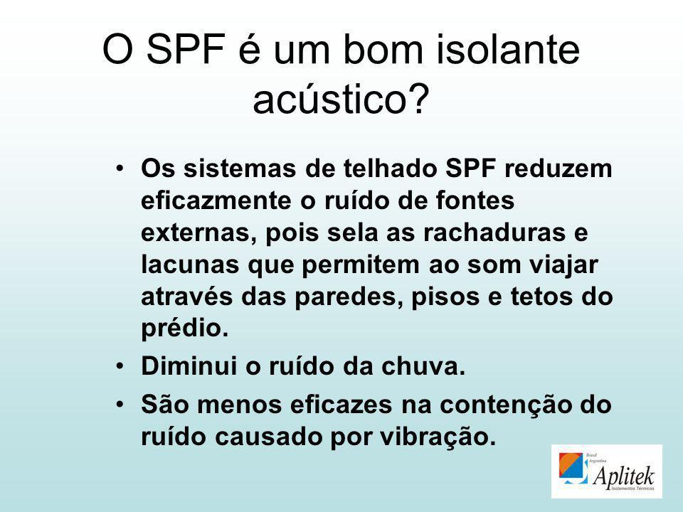 O SPF é um bom isolante acústico? Os sistemas de telhado SPF reduzem eficazmente o ruído de fontes externas, pois sela as rachaduras e lacunas que per