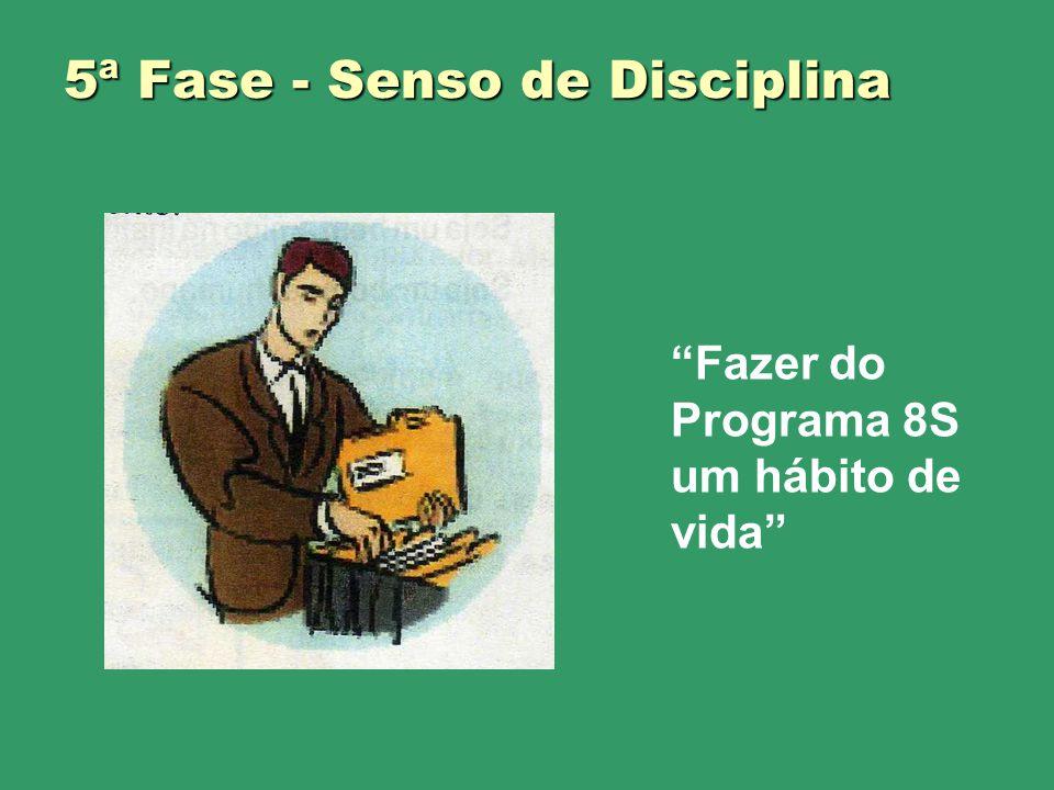 5ª Fase - Senso de Disciplina Fazer do Programa 8S um hábito de vida