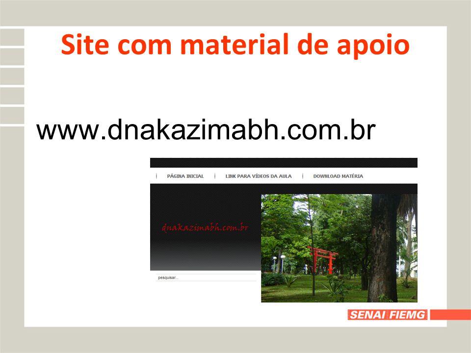 Site com material de apoio www.dnakazimabh.com.br