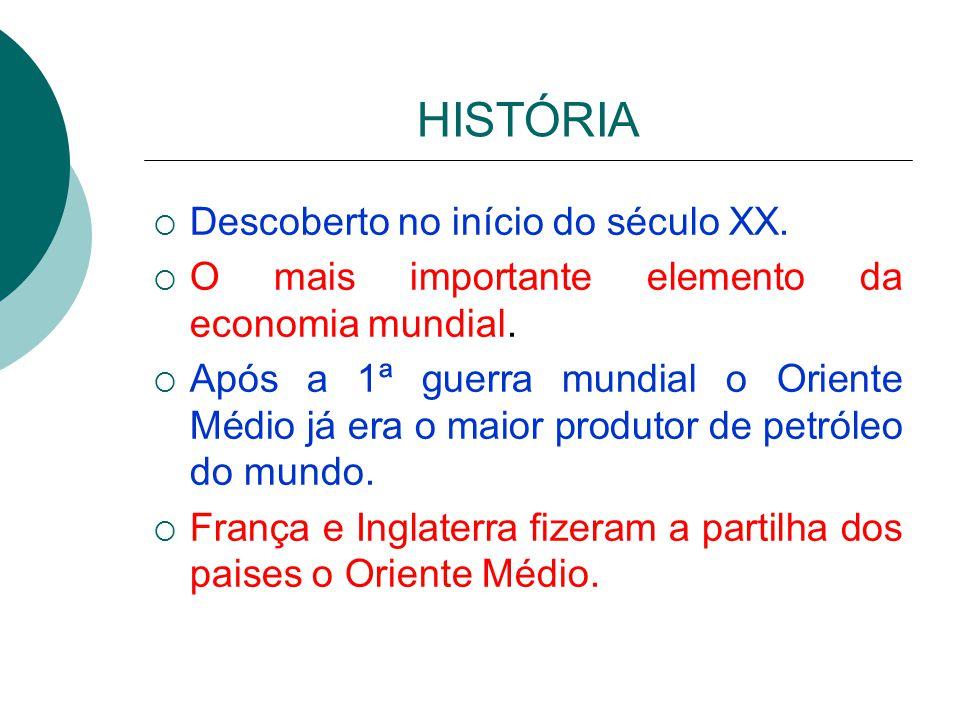 2ª Parte Histórico dos Conflitos do Petróleo