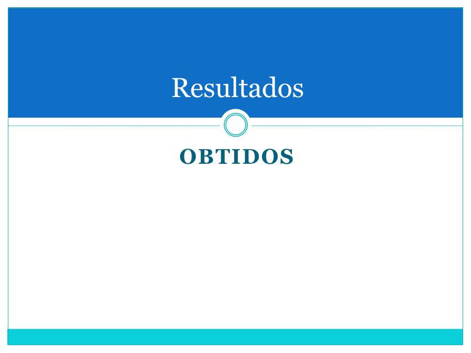 OBTIDOS Resultados