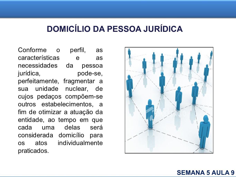 Conforme o perfil, as características e as necessidades da pessoa jurídica, pode-se, perfeitamente, fragmentar a sua unidade nuclear, de cujos pedaços