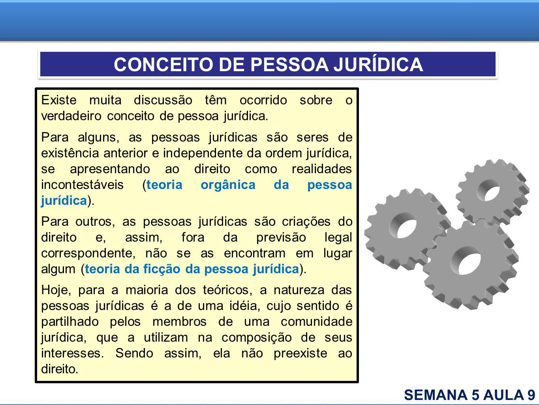 Existe muita discussão têm ocorrido sobre o verdadeiro conceito de pessoa jurídica. Para alguns, as pessoas jurídicas são seres de existência anterior