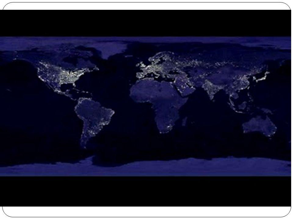 A Regionalização do Espaço Mundial Existem inúmeras divisões do espaço geográfico mundial, mas podemos separar duas formas de regionalização mais conhecidas e utilizadas.
