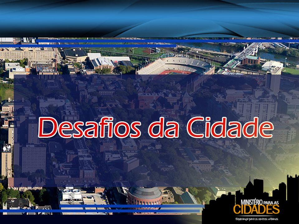 A obra de Satanás é evidente nas cidades Satanás está ativamente em operação em nossas cidades populosas.
