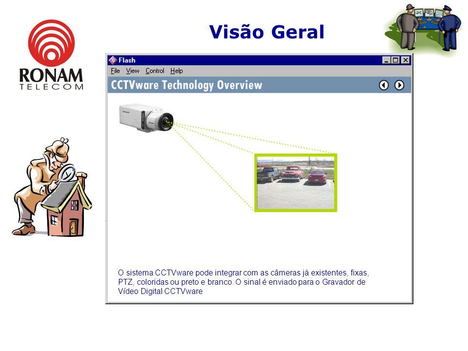 Visão Geral O sistema CCTVware é uma combinação de hardware e software padrão Windows XPO sistema CCTVware é uma combinação de hardware e software pad