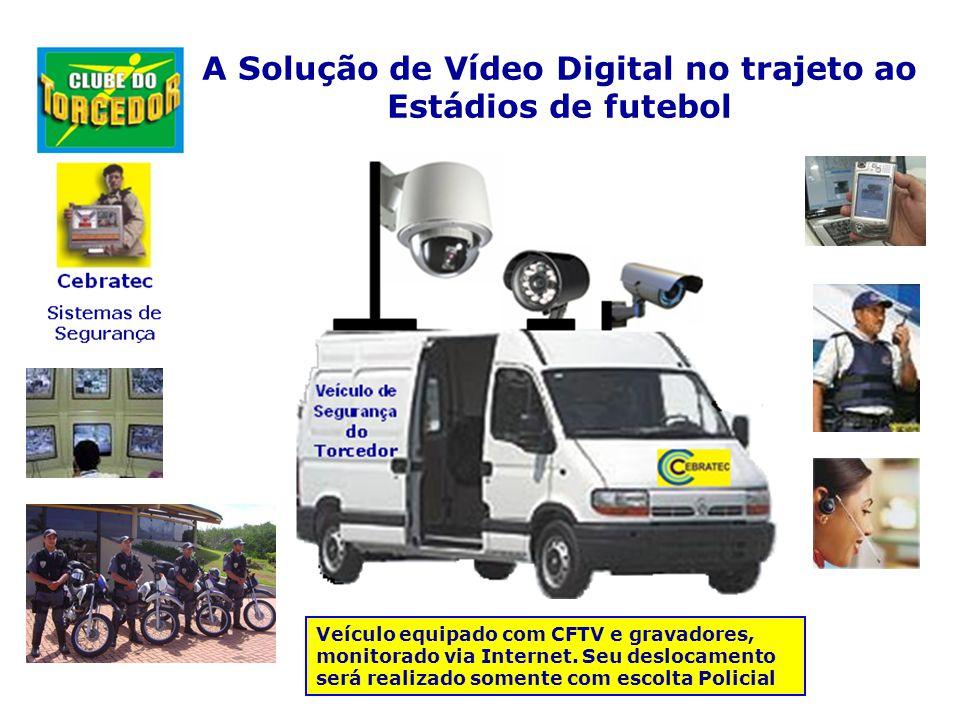 A Solução de Vídeo Digital nos Estádios de futebol A Implantação de sistemas de monitoramento nas ações das Torcidas e torcedores comuns nos estádios