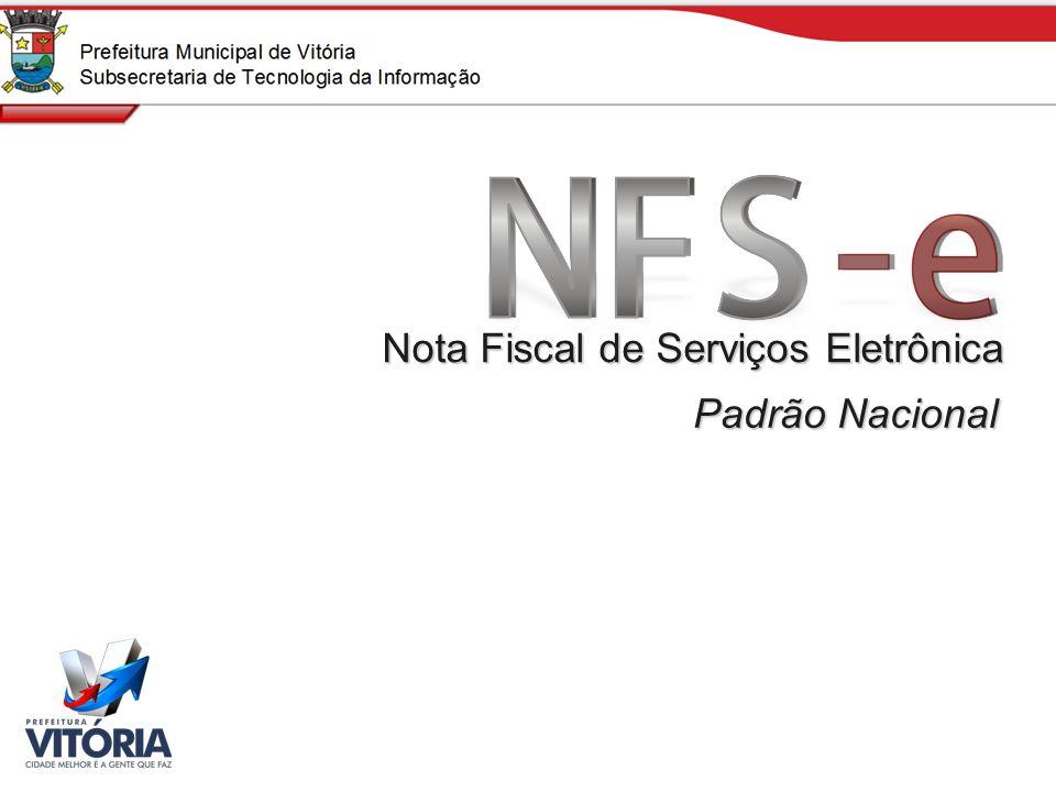 Padrão Nacional Nota Fiscal de Serviços Eletrônica