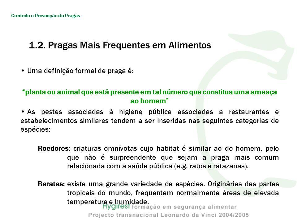 2. Sistema de Disposição de Lixos Controlo e Prevenção de Pragas