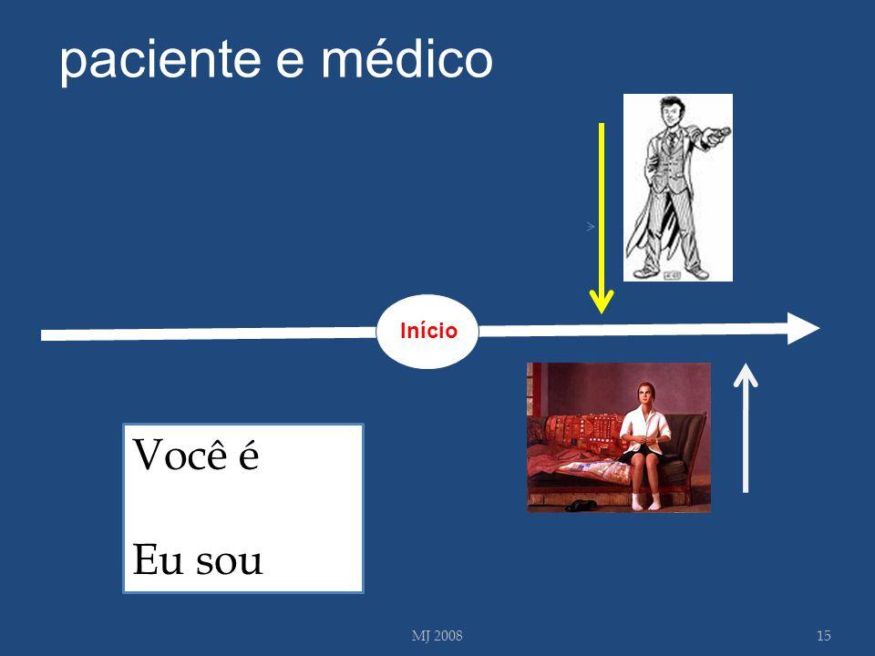 MJ 200815 Você é Eu sou paciente e médico Início