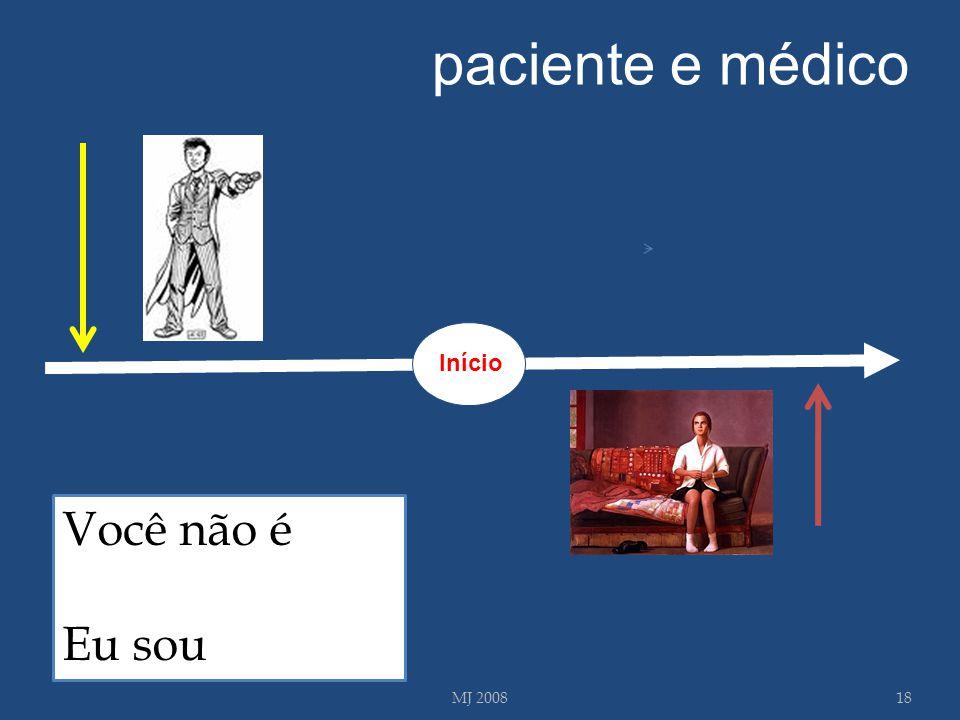 MJ 200818 Você não é Eu sou paciente e médico Início