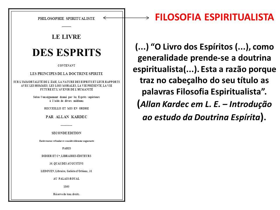 PHILOSOPHIE SPIRITUALISTE –––––––– LE LIVRE DES ESPRITS CONTENANT LES PRINCIPES DE LA DOCTRINE SPIRITE SUR LIMMORTALITÉ DE LÂME, LA NATURE DES ESPRITS ET LEUR RAPPORTS AVEC LES HOMMES; LES LOIS MORALES, LA VIE PRÉSENTE, LA VIE FUTURE ET LAVENIR DE LHUMANITÉ Selon lenseignement donné par les Esprits supérieurs à 1aide de divers médiums RECUEILLIS ET MIS EN ORDRE PAR ALLAN KARDEC –––––––– SECONDE EDITION Entièrement refondue et considérablement augmentée PARIS DIDIER ET C ie, LIBRAIRES-ÉDITEURS 35, QUAI DES AUGUSTINS LEDOYEN, Libraire, Galérie dOrléans, 31 AU PALAIS-ROYAL 1860 Réserve de tous droits.