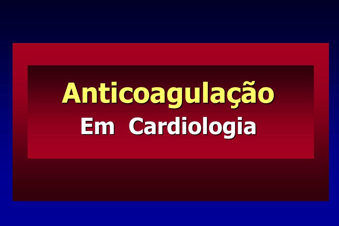 Anticoagulação Em Cardiologia