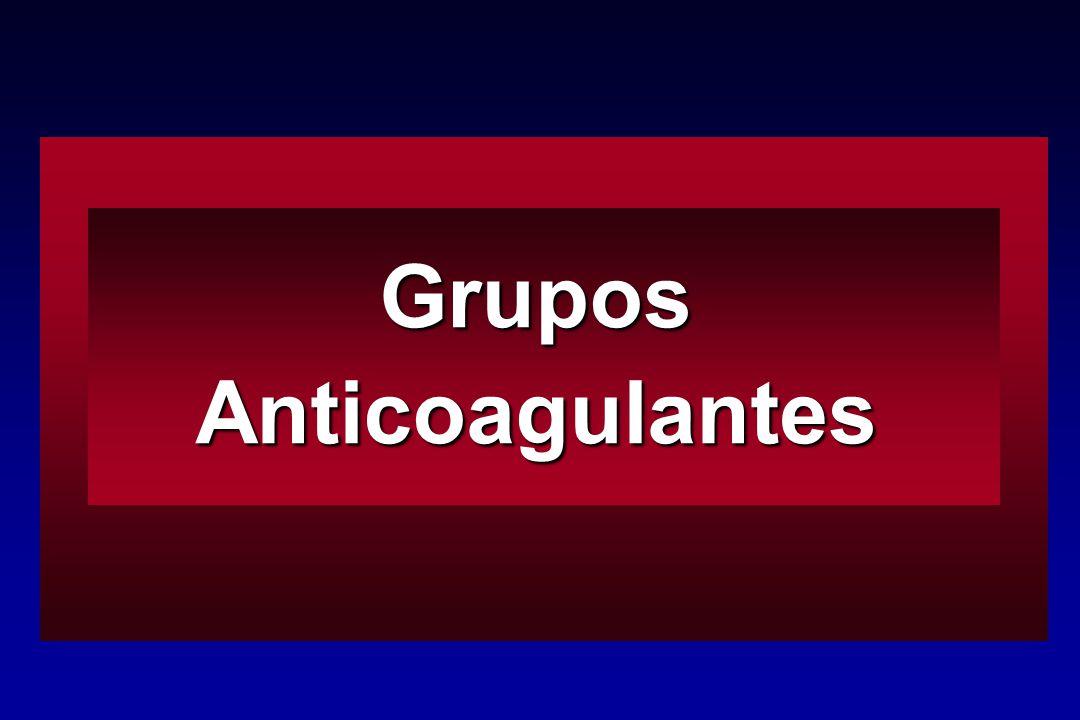 Grupos Anticoagulantes