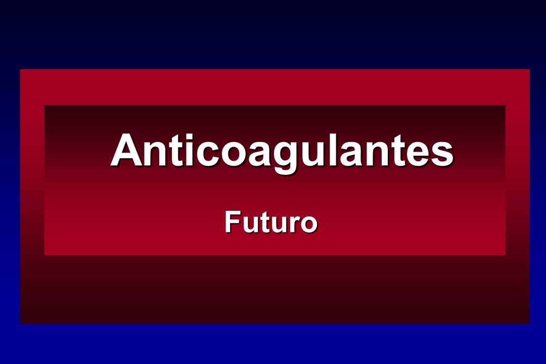 Anticoagulantes AnticoagulantesFuturo