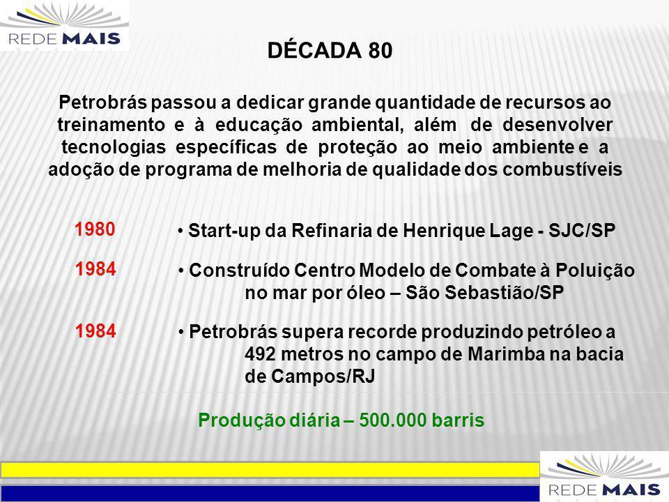 Petrobrás passou a dedicar grande quantidade de recursos ao treinamento e à educação ambiental, além de desenvolver tecnologias específicas de proteçã