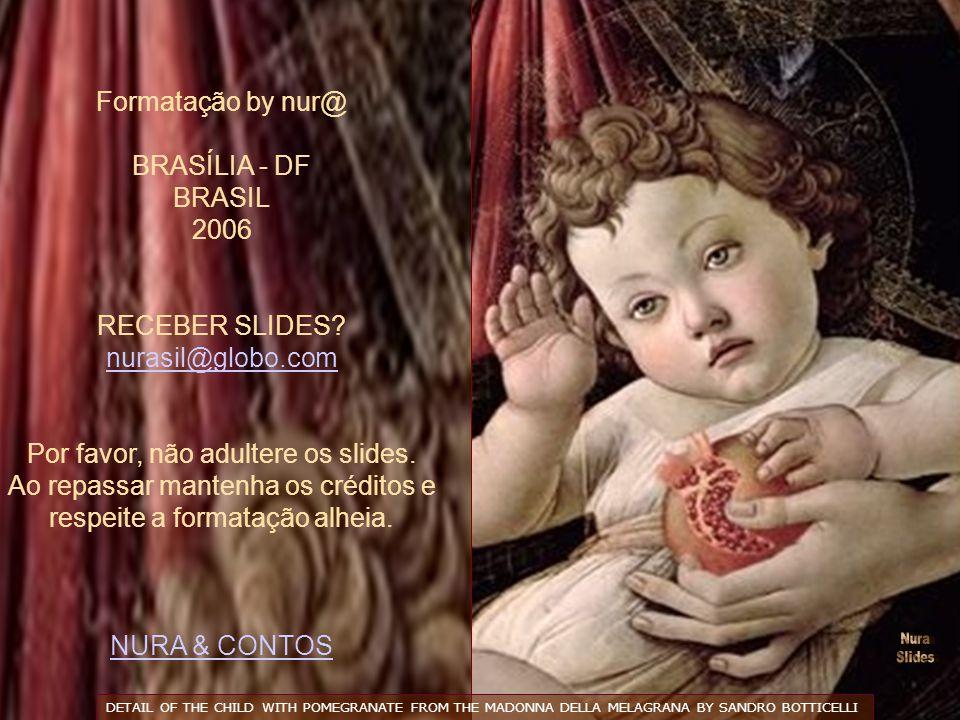 Formatação by nur@ BRASÍLIA - DF BRASIL 2006 RECEBER SLIDES.