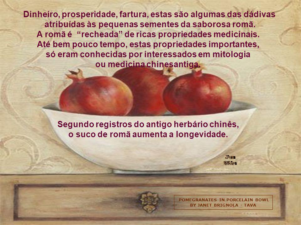 ANEMONES AND POMEGRANATES BY ISY OCHOA A romã tem anti-oxidantes ainda mais poderosos do que o tomate e o vinho tinto para a prevenção de doenças card