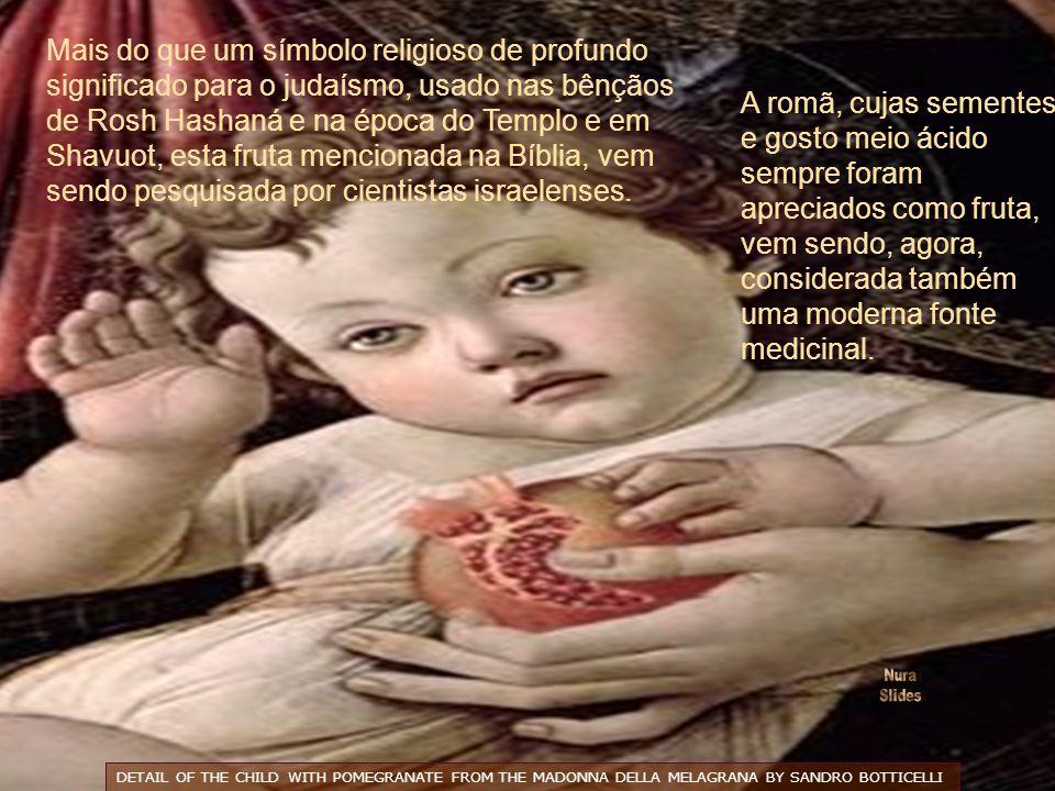 Remédio milenar, o uso da romã é consagrado cientificamente. Já está comprovada a eficácia da romã como antibiótico natural. As raízes são usadas para