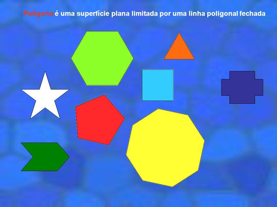 vértice lado ângulo Os principais elementos que constituem os polígonos são: os lados, os vértices e os ângulos.