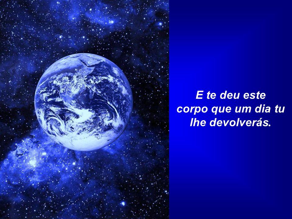 Oração pela Terra Saibas que a tua Mãe Terra está em ti e tu estás Nela. Foi Ela quem te gerou e que te deu a vida.