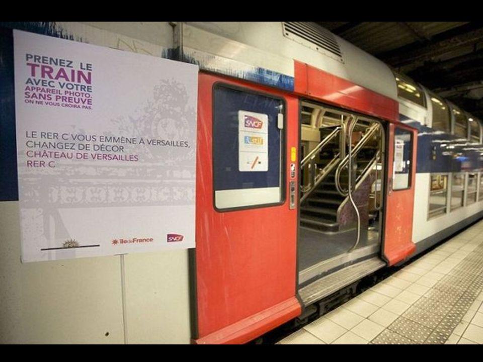 Trata-se de um ramal da linha C do RER, uma das mais extensas do país, uma rota muito bem conhecida pelos turistas que chegam cada ano a la cidade da