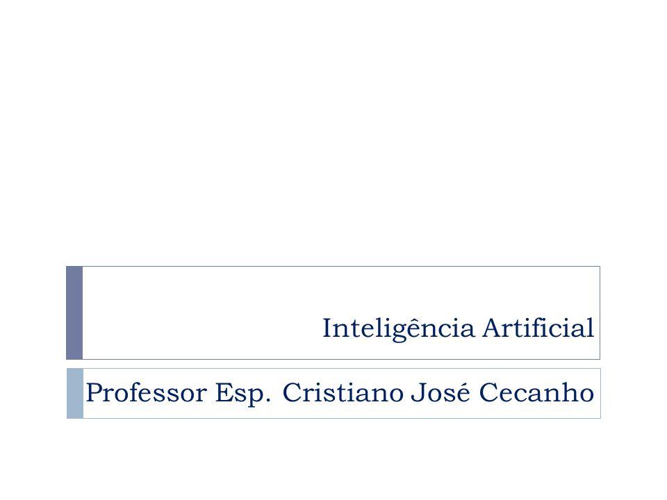 Inteligência Artificial Professor Esp. Cristiano José Cecanho