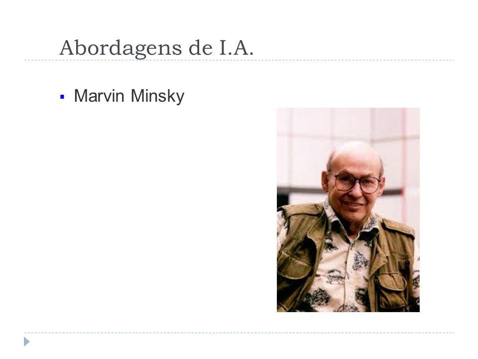 Abordagens de I.A. Marvin Minsky