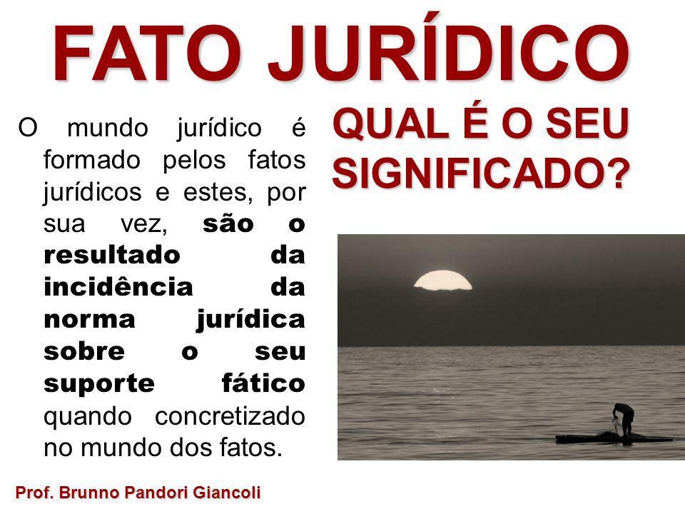 FATO JURÍDICO Prof.