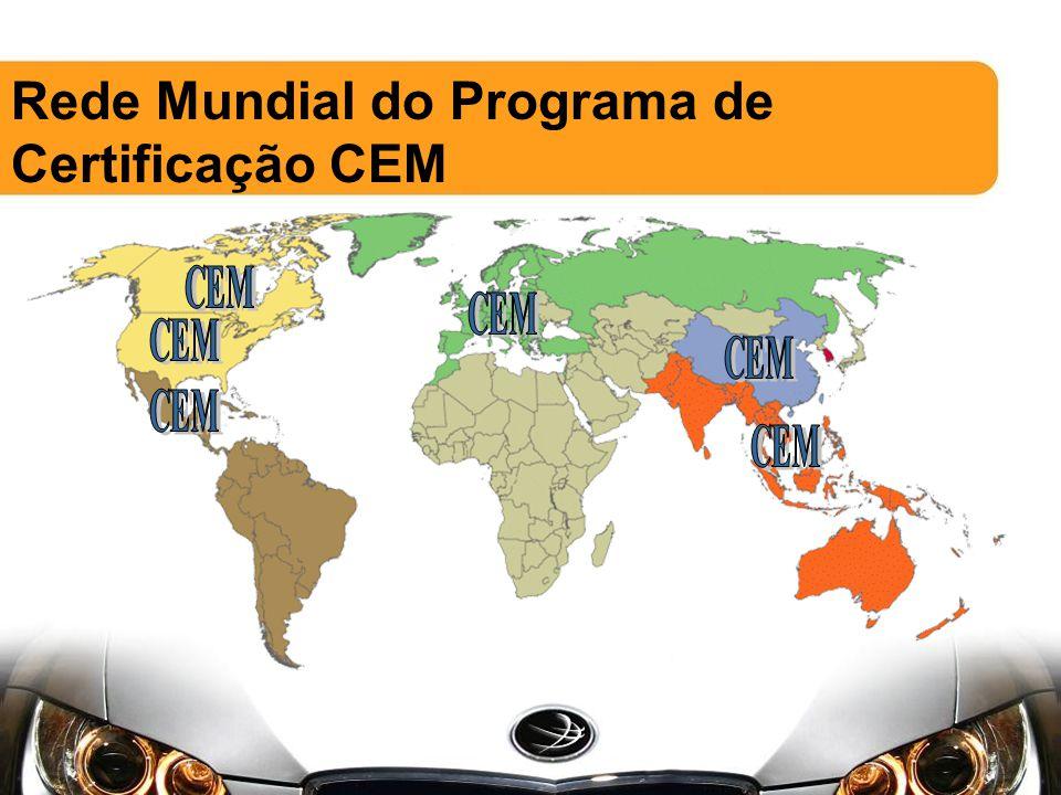 Rede Mundial do Programa de Certificação CEM