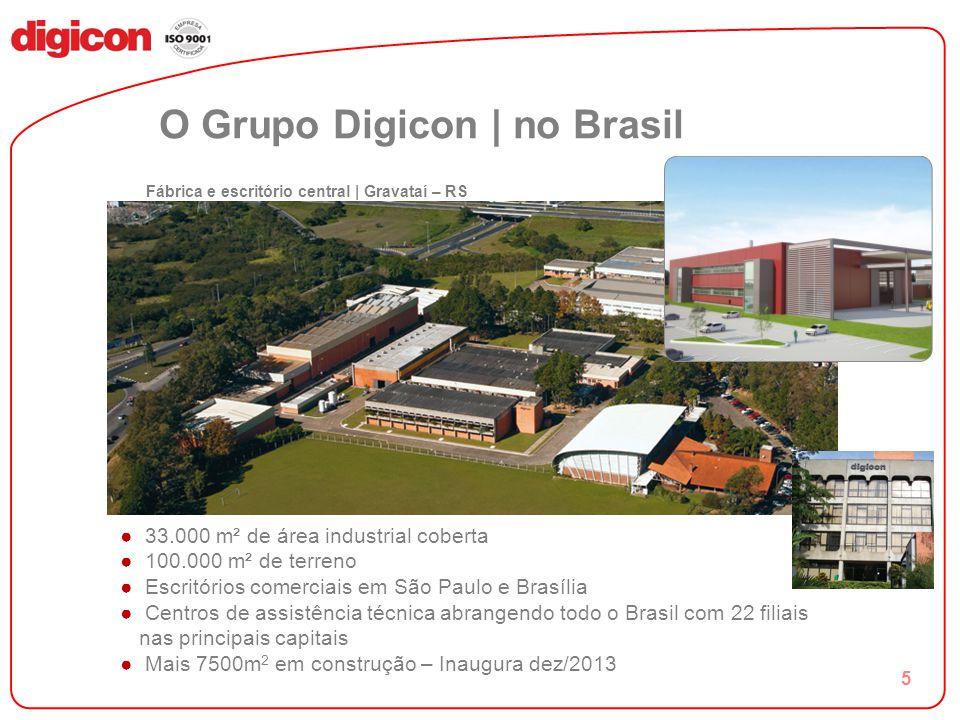 6 O Grupo Digicon | no exterior PRESENÇA EM MAIS DE 40 PAÍSES Projeto Índia