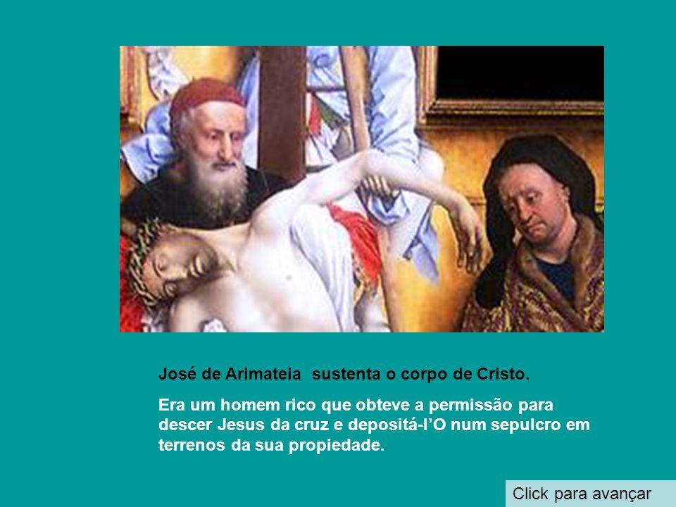 Click para avançar Mão da Virgem Maria Braço de Cristo