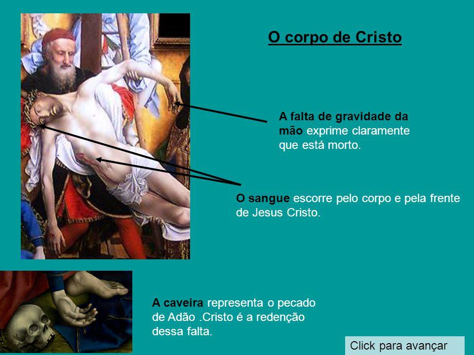Click para avançar Maria Madalena, levando o pote dos unguentos