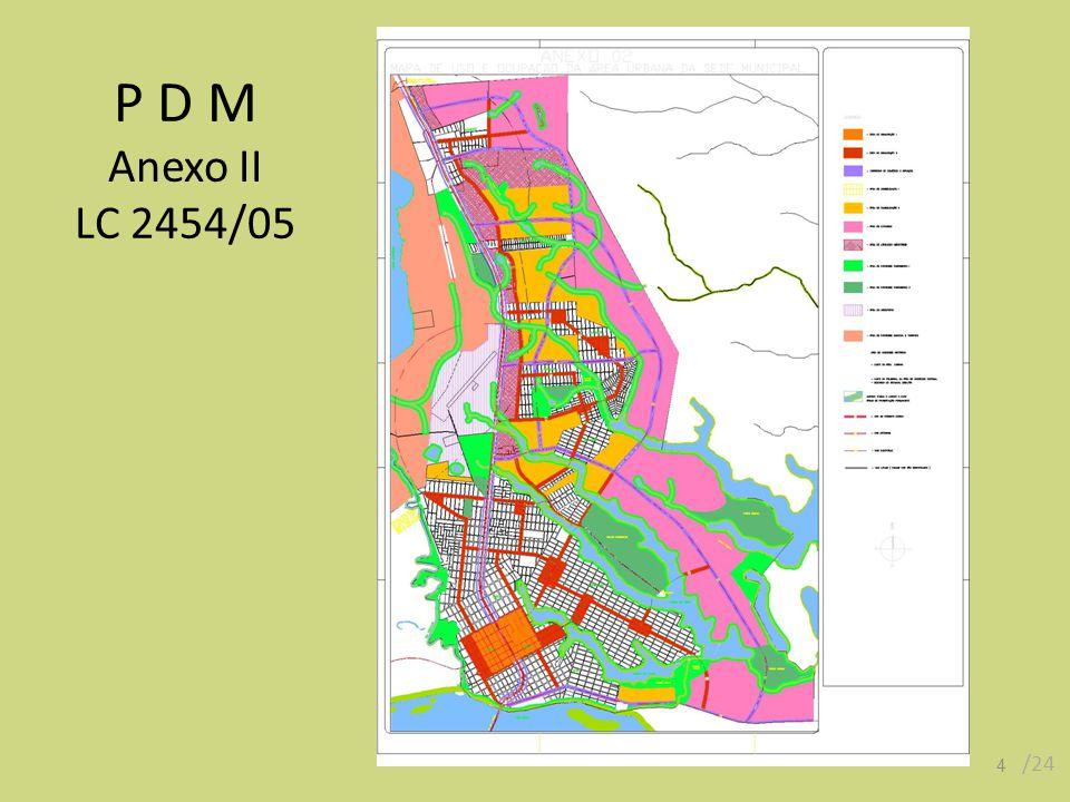 Art.38 A Área Rural subdivide-se nas seguintes áreas: Art.