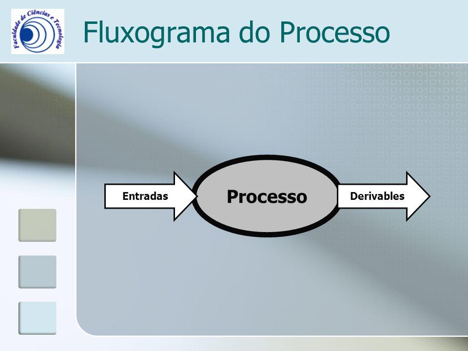 Fluxograma do Processo Processo EntradasDerivables