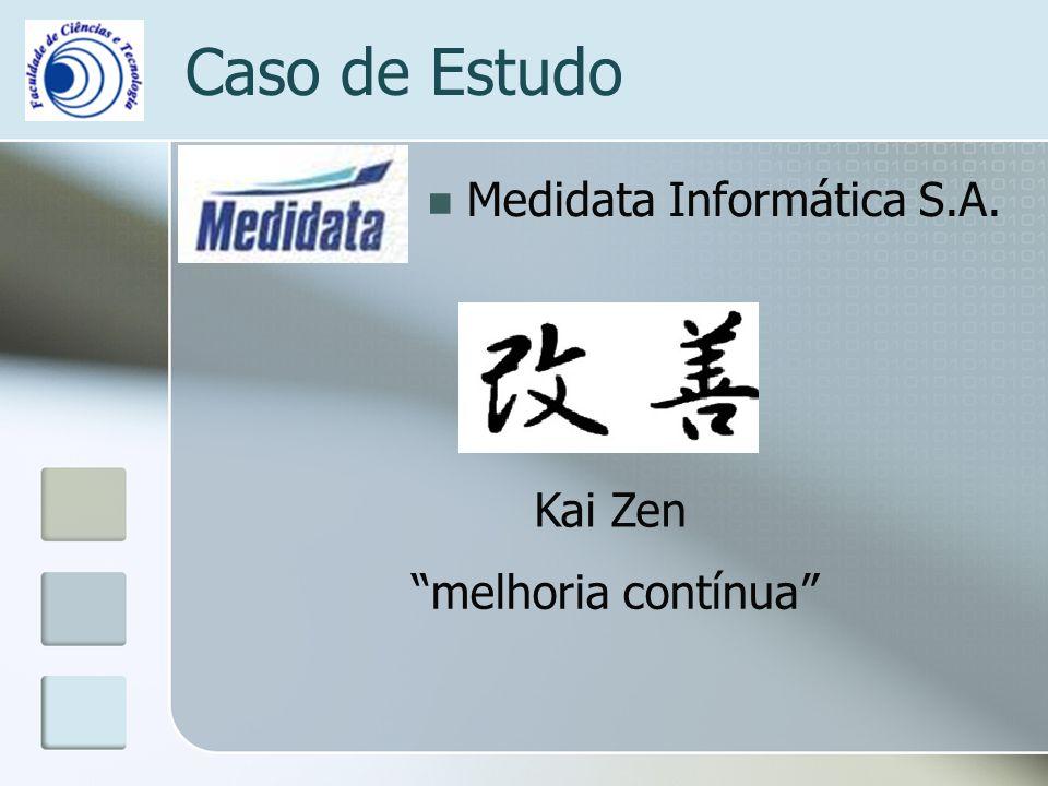 Caso de Estudo Medidata Informática S.A. Kai Zen melhoria contínua