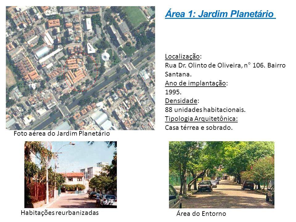 Localização: Rua Dr. Olinto de Oliveira, n° 106. Bairro Santana. Ano de implantação: 1995. Densidade: 88 unidades habitacionais. Tipologia Arquitetôni