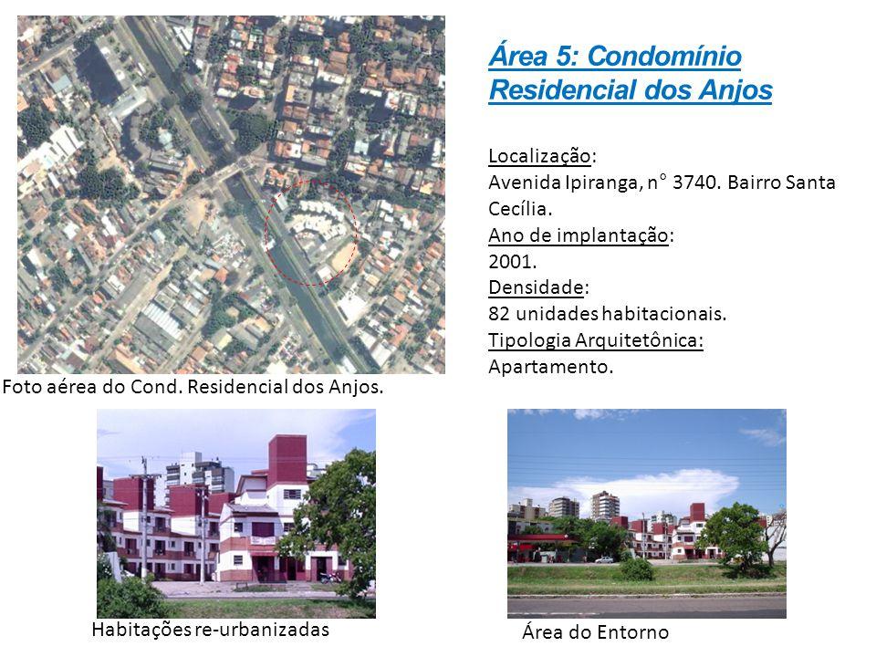 Localização: Avenida Ipiranga, n° 3740. Bairro Santa Cecília. Ano de implantação: 2001. Densidade: 82 unidades habitacionais. Tipologia Arquitetônica: