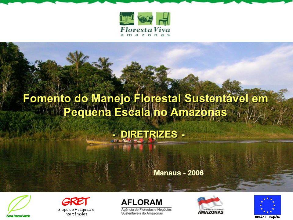 Fomento do Manejo Florestal Sustentável em Pequena Escala no Amazonas - DIRETRIZES - Manaus - 2006