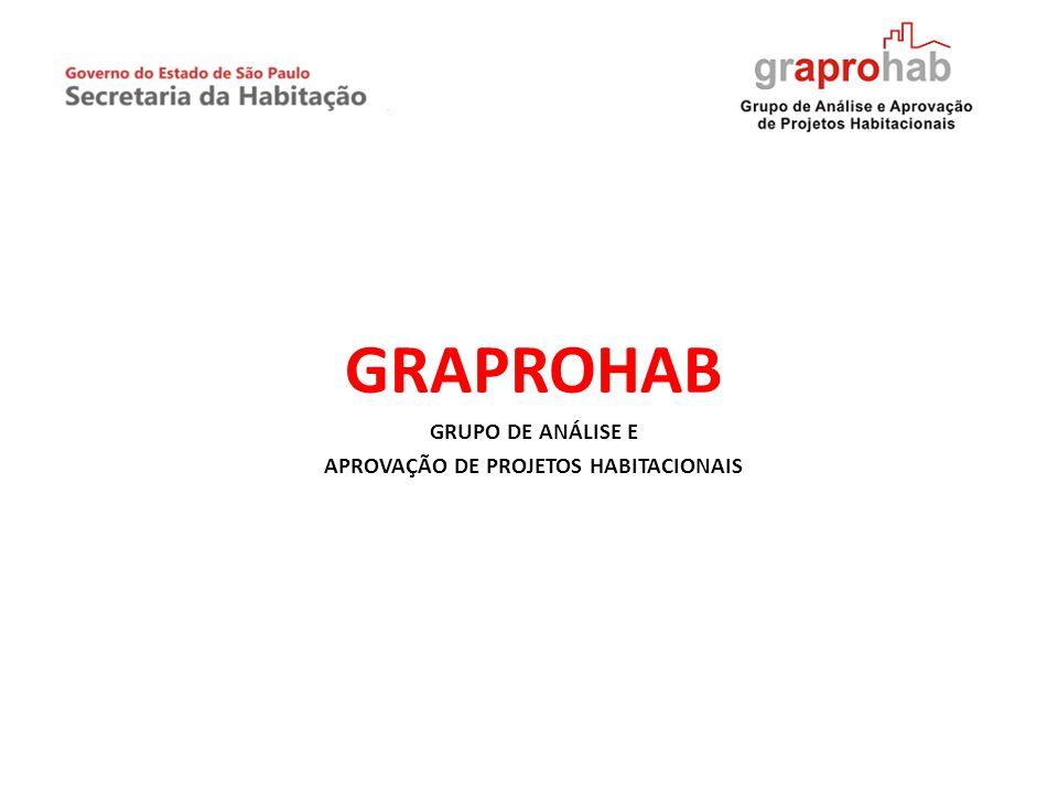 GRAPROHAB GRUPO DE ANÁLISE E APROVAÇÃO DE PROJETOS HABITACIONAIS