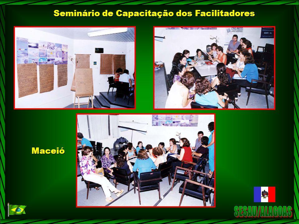 Seminário de Capacitação dos Facilitadores Maceió